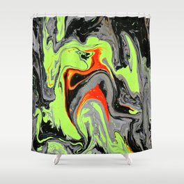Monster Mash Shower Curtain