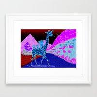 monkey island Framed Art Prints featuring Monkey Island! by illustratorlam