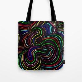 Hair pattern Tote Bag