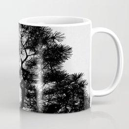 Pine Tree Black & White Coffee Mug