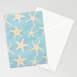 Starfish in the Water Stationery Cards