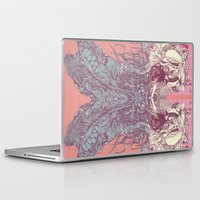 insect Laptop & iPad Skins featuring insect by Maethawee Chiraphong