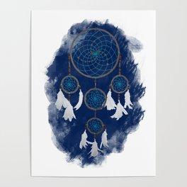 Classic Dreamcatcher 2: Blue background Poster