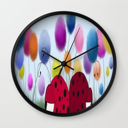 I'll Never Turn My Back On You Wall Clock