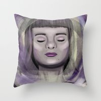 ace Throw Pillows featuring Ace by erikakettle