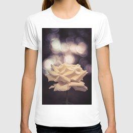 Sexy White Rose T-shirt