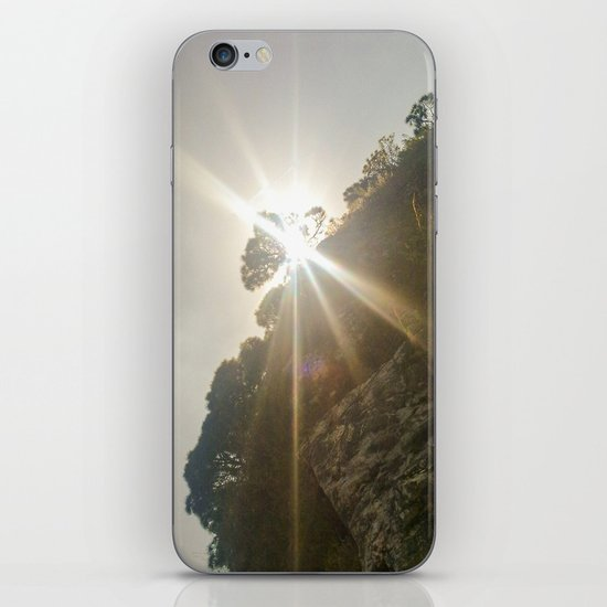 Shine Over Me iPhone & iPod Skin