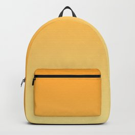 Yellow Orange Sunflower Ombre Backpack