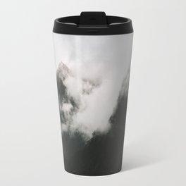 Misty Doubtful Sound Travel Mug