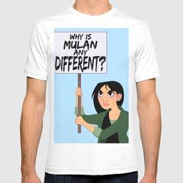 Protest Princess: Mulan T-shirt