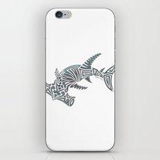 Tribal Hammerhead Shark iPhone Skin