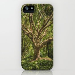 Spirits inside the wood iPhone Case