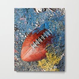 Football art print work 2 Metal Print