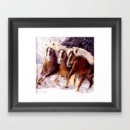 Three Beauties Framed Art Print