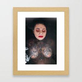Damage Case Framed Art Print