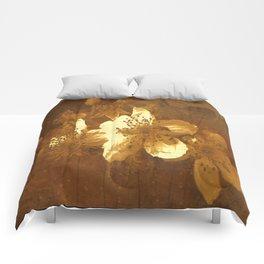 Textured Flower Art  Comforters