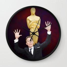 Photobomb Oscarbatch Wall Clock