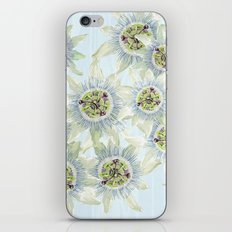 Passion flower Fever iPhone & iPod Skin