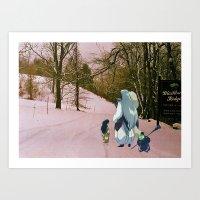 inuyasha Art Prints featuring Sesshomaru, Rin and Jaken (Burnsville NC) (Inuyasha) by Jackobi Austin
