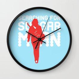 Searching for SugarMan Wall Clock