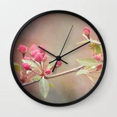 Birthday Buds Wall Clock