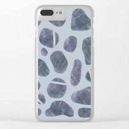 Stones, Pebbles, Rocks Clear iPhone Case
