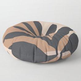 Tropical Leaf- Abstract Art 2 Floor Pillow