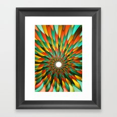 Tropical Tunnel Framed Art Print