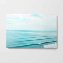 Minimal Beach Metal Print
