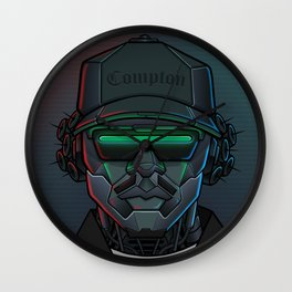 Robot Rappers - Eazy Wall Clock
