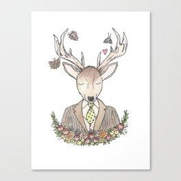 Mr. Deer Canvas Print