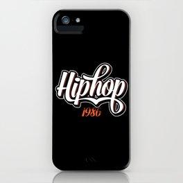 Hip Hop Clothes iPhone Case