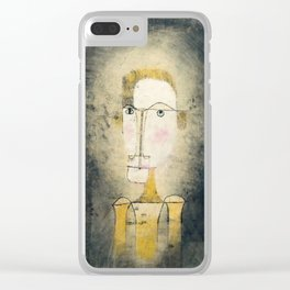 Portrait of a Yellow Man by Paul Klee, 1921 Clear iPhone Case