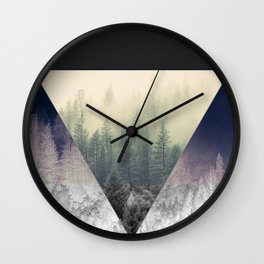 Inverted Forest Wall Clock