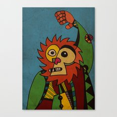 Monkey in Sunday Best Canvas Print
