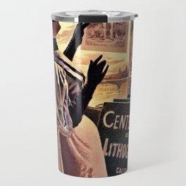1895 Paris Centennial of Lithography Travel Mug