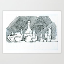 Ingredients Art Print