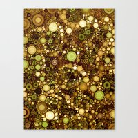solid color Canvas Prints featuring :: Solid Gold :: by :: GaleStorm Artworks ::