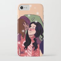 korrasami iPhone & iPod Cases featuring Korrasami &  Christmas Sweaters by the-haps