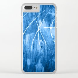 Nautical Night Clear iPhone Case