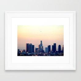 Los Angeles Sunrise Framed Art Print