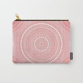 Pink mandala inspired pattern. Carry-All Pouch