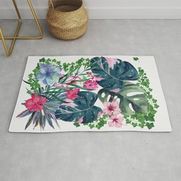 Tropical Plants Rug