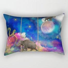 Space elephants Rectangular Pillow