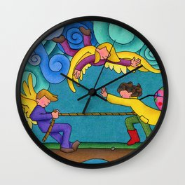 Through The Storm Wall Clock