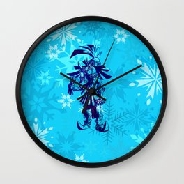 MAJORA MASK FLAKES Wall Clock