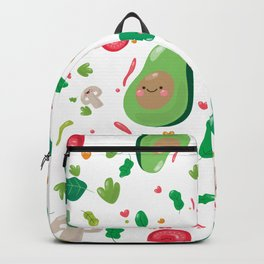 Veggy Pattern Backpack