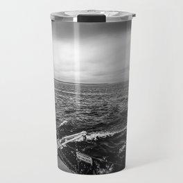Stormy Sailing on Chappy Travel Mug