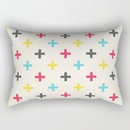 Medium Plus Signs #1 Rectangular Pillow