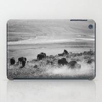 buffalo iPad Cases featuring BUFFALO by Eliesa Johnson